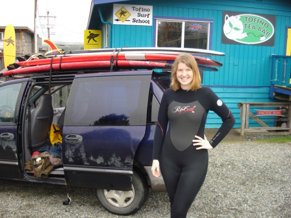 I have no shame anymore so here's a picture of me in a wetsuit. So flattering.